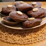 Bananen-Schoko-Cupcakes
